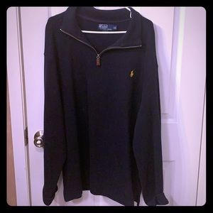 Navy polo by Ralph Lauren sweater
